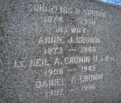 "LTJG Cornelius A ""Neil"" Cronin"