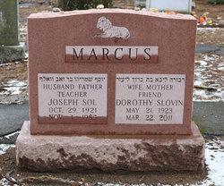 Dorothy <I>Slovin</I> Marcus