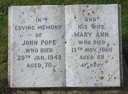Mary Ann Pope