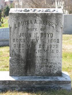 Louisa A <I>Heisey</I> Boyd