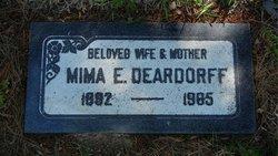 Mima Ethelin <I>Williams</I> Deardorff