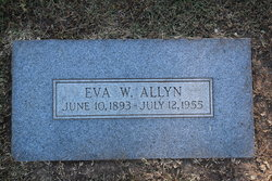 Eva <I>Ward</I> Allyn