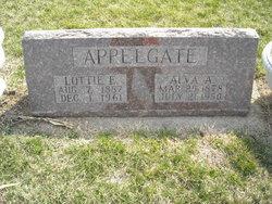 "Charlotte Elizabeth ""Lottie"" <I>Yetley</I> Appelgate"