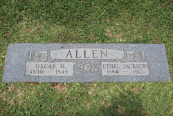 Ethel <I>Jackson</I> Allen