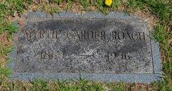 Myrtie Belle <I>Carder</I> Roach