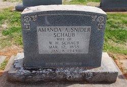 Amanda Artansa <I>Snider</I> Schaub