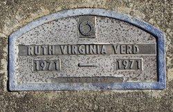 Ruth Virginia Verd