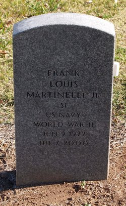 Frank Louis Martinelli, Jr