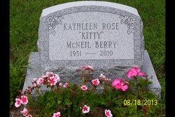 """Kathleen Rose """"Kitty"""" <I>McNeil</I> Berry"""