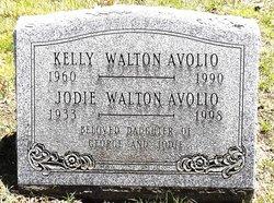 "Joann ""Jodie"" <I>Walton</I> Avolio"