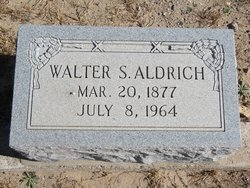 Walter S Aldrich