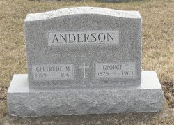 George T Anderson