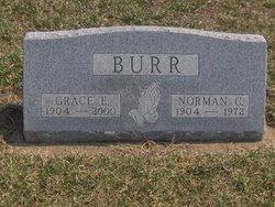 Grace E. <I>Butler</I> Burr