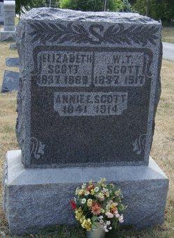 Annie Eliza <I>Miller</I> Scott