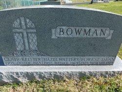 Hazel Katharine <I>Watters</I> Bowman