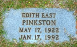 Edith Orlean <I>East</I> Pinkston