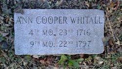 Ann <I>Cooper</I> Whitall