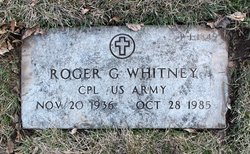Corp Roger G Whitney