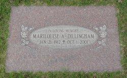 Marilouise A <I>Ratz</I> Dillingham