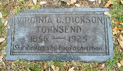 Virginia Goss <I>Dickson</I> Townsend