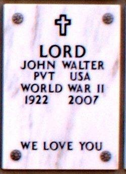 John Walter Lord