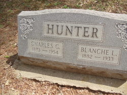 Blanche Loy <I>George</I> Hunter