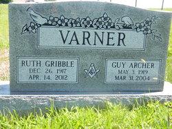 Ruth Elizabeth <I>Gribble</I> Varner