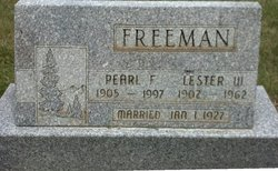 Pearl Flora <I>Cummings</I> Freeman