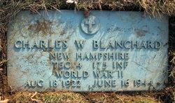 Charles W Blanchard