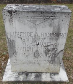 Florence A. <I>Richburg</I> Duke