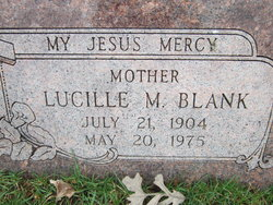 Lucille <I>May</I> Blank