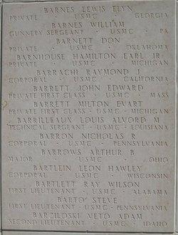 Maj Arthur B Barrows