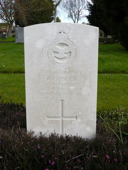 Sergeant ( Air Bomber ) Donald Coulthard Fisher
