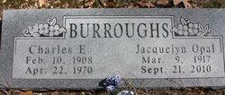Charles E Burroughs