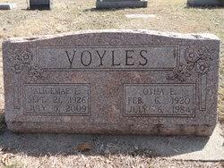 Otha E Voyles