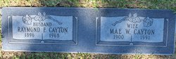 """Mae Amelia """"Punkin"""" <I>Watson</I> Cayton"""