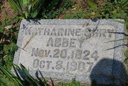 Katharine <I>Shry</I> Abbey