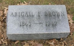 Abigail <I>Lincoln</I> Brown