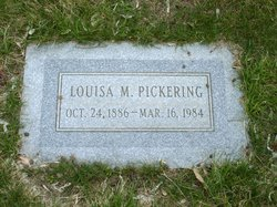 Louisa <I>Mellen</I> Pickering