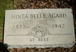 "Arminta Isabelle ""Minta"" <I>Kincade</I> Agard"