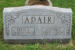 Effie Edith <I>Booe</I> Adair