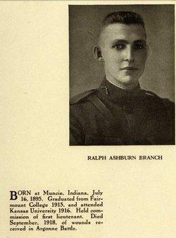 2LT Ralph Ashburn Branch