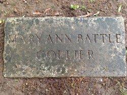 Mary Ann <I>Battle</I> Collier