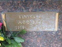 Elaine E. Abbott