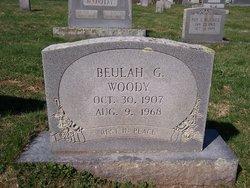 Beulah Grindstaff Woody