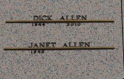 Janet Sue <I>Eckhart</I> Allen
