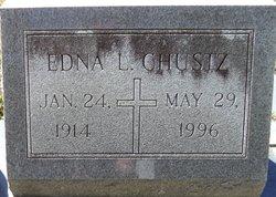 Edna <I>Lanier</I> Chustz