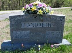 Sudie <I>Sapp</I> Landreth