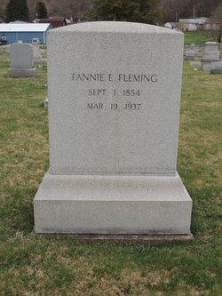 Fannie E. <I>Edmiston</I> Fleming