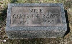 Gertrude Rader